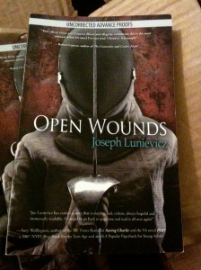 1st Cover of Open Wounds ARC - Sabre Fencer